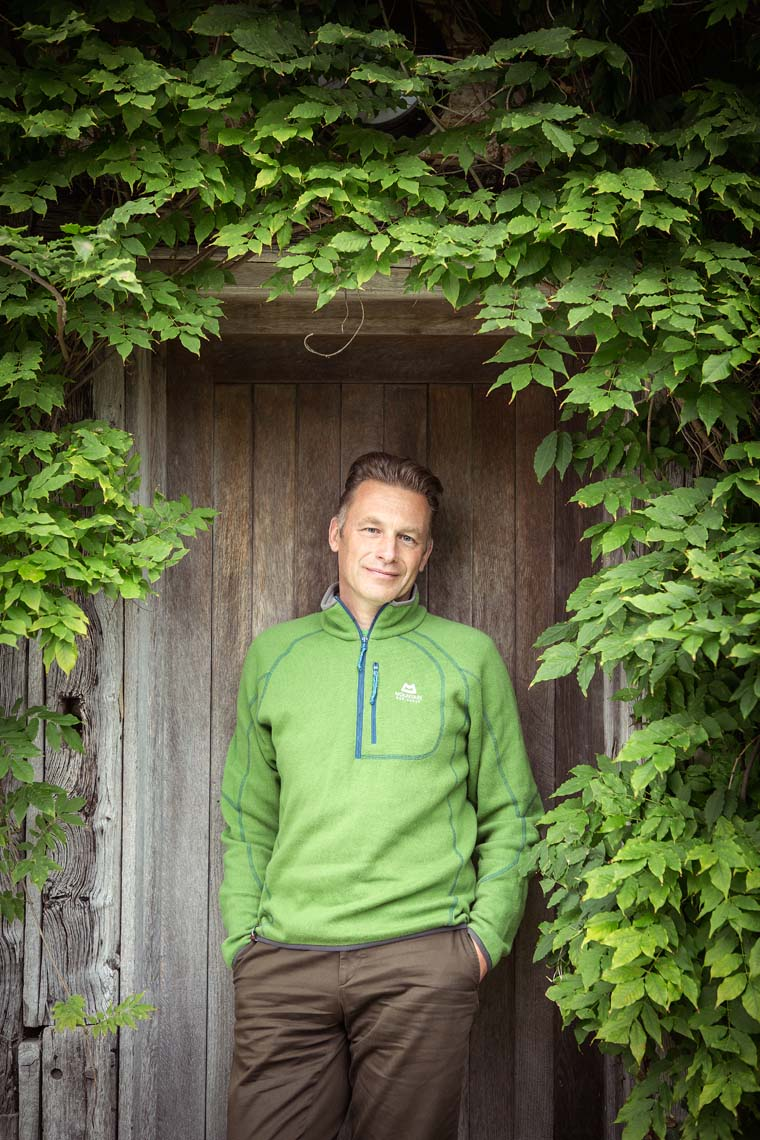 Chris Packham Photographed by Michael Clement