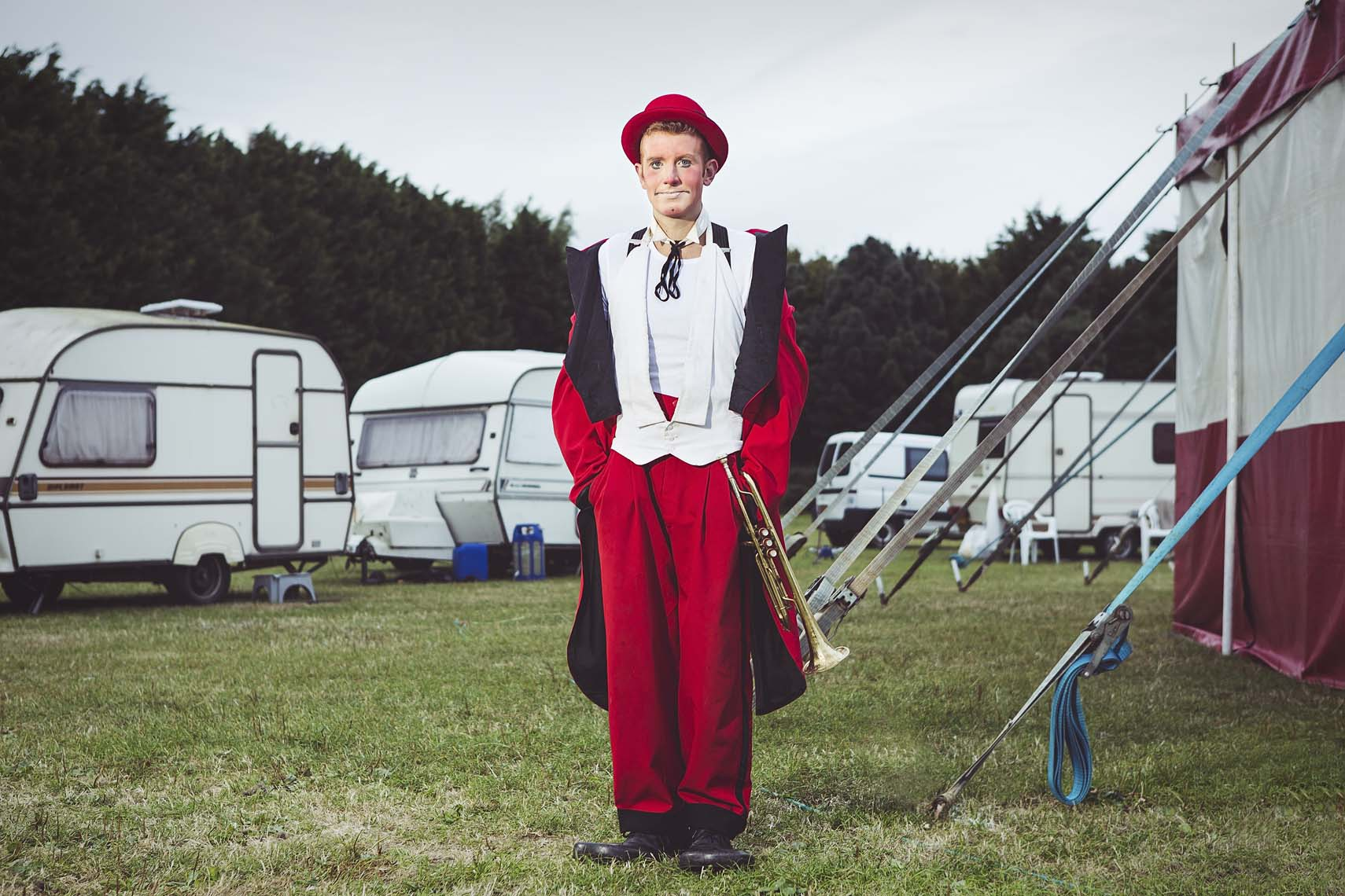 Circus Portraits by Michael Clement Photography