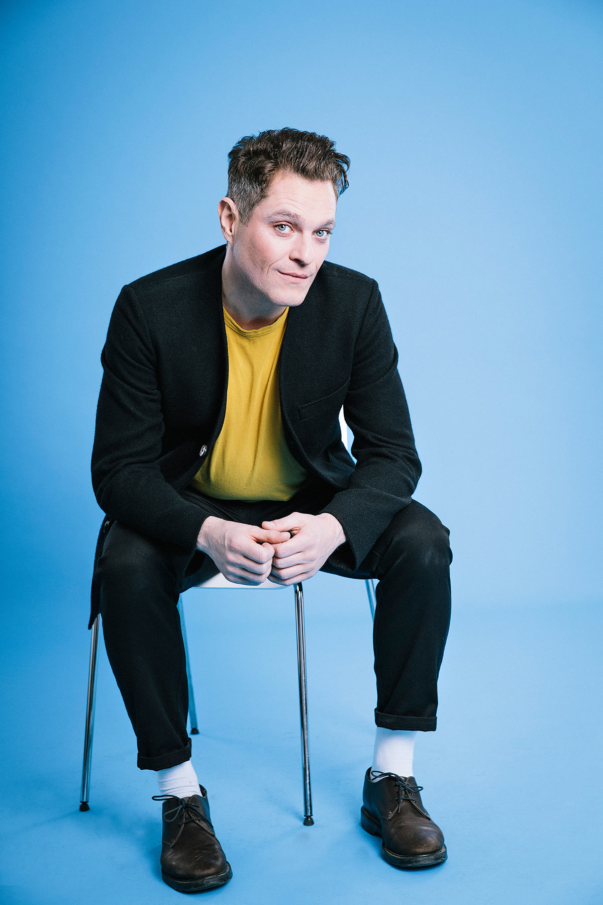 Mathew Horne Photographed for The Times by Michael Clement